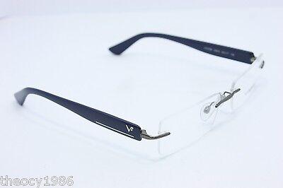 Vogue New Frames Eyeglasses Eyewear VO 3796 548S 53mm Rimless Dark Blue