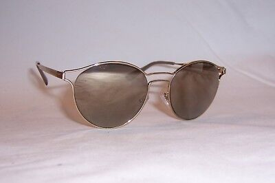NEW PRADA SUNGLASSES SPR 62SS ZVN1C0 GOLD/GOLD MIRROR AUTHENTIC 62S