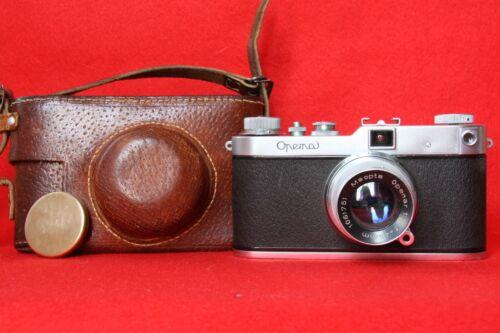 OPEMA II,MEOPTA,rangefinder cam.,OPENAR 1:2 F=45 mm Czechoslovakia