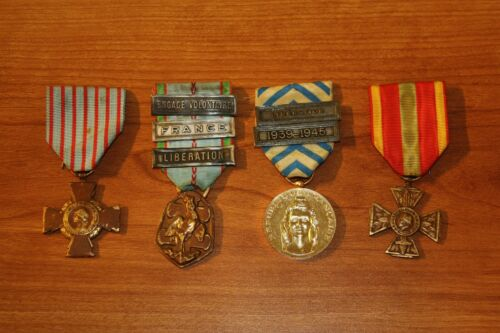 Medal Military French France 1939 1945 Libération Volontaire