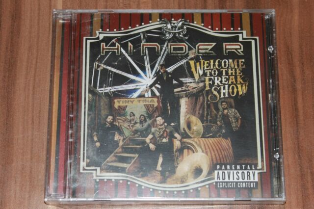 Hinder - Welcome To The Freakshow (2012) (CD) (B0017729-02) (Neu+OVP)