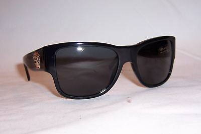 NEW VERSACE Sunglasses VE4275 VE 4275 GB1/87 BLACK/GRAY AUTHENTIC