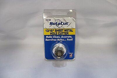 1316 Rotacut Sheet Metal Cutter 11000 Series Hougen Part Number 11136