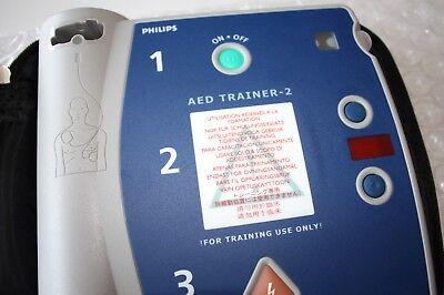 Philips M3752a Heartstart Fr2 Aed Defibrillator Trainer 2