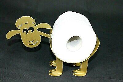 Bad Deko SCHAF WC Ständer Toilettenpapier Rollenhalter Toilettenrollenhalter 1G