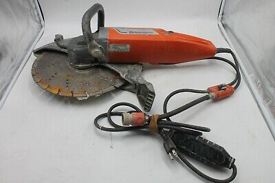 Husqvarna K3000 Wet Electric Corded Concrete Saw 14 Blade Diameter Works