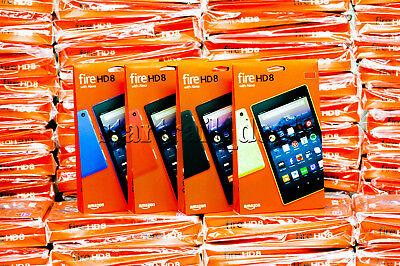 2017 Brand New Amazon Fire Hd 8 W  Alexa Tablet 8  Hd Display 7Th Gen 16Gb 32Gb