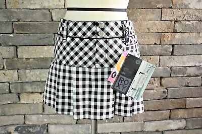 NWT $270 ROXY BLACK COLLECTION 10K WATERPROOFNESS SKIRT M LIMITED EDITION