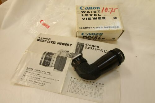 Vintage waist level viewer N.2   for early canon slr, Canonflex etc. MINTY boxed