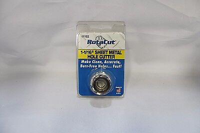 1-116 Rotacut Sheet Metal Cutter 11000 Series Hougen Part Number 11152
