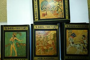 My Book of History, 4 V.: Explorations, Conquests, Beginnings, New Nations, 1933