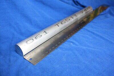 1 X 12 6061 T6 Aluminum Round Bar Rod