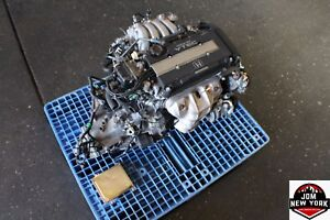 92-95 HONDA ACURA INTEGRA GS-R 1.8L OBD1 ENGINE M/T 5SPD TRANS ECU B18C Y80 #2