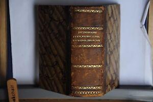 1853-DICTIONNAIRE-FRANCAIS-ESPAGNOL-ET-ESPAGNOL-FRANCAIS