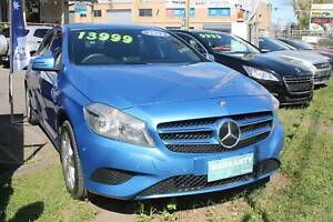 2013 Mercedes Benz A180 BE Hatchback  Auto Blue Nerang Gold Coast West Preview