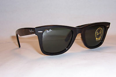 Rayban Sunglasses Wayfarer 2140 902 Tortoise Green 50mm Authentic on Sale