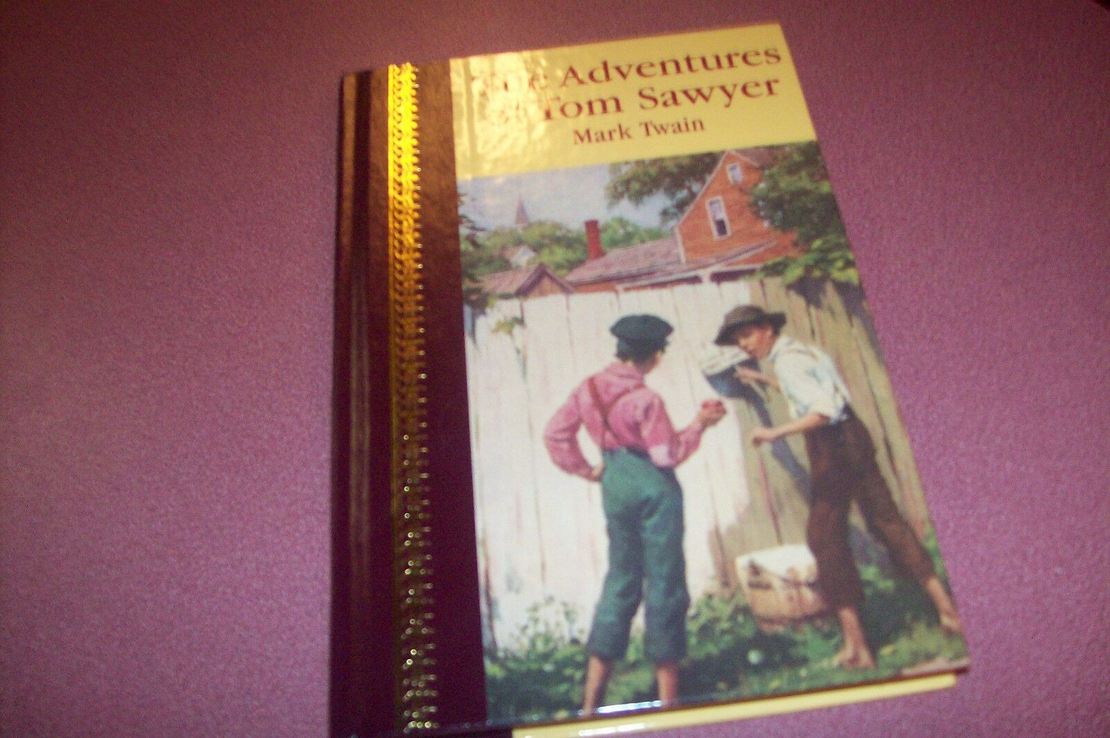 Adventures Of Tom Sawyer By Mark Twain (1999, Hardcover)