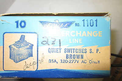 Eagle 1101 Quiet Switches Box Of 10