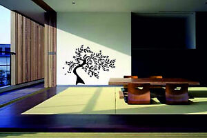 FLORAL-TREE-wall-art-stickers-decals-stencils-bedroom-lounge-graphics-kid-large