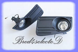 VW Volkswagen CRAFTER Fog Lights Lamp Grille Set 06+