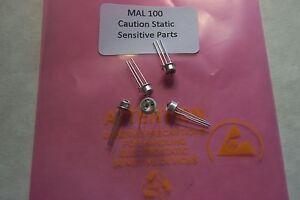 MAL100A-phototransistors-photo-transistors-Qty-5-rugged-TO-106-Case-New-parts