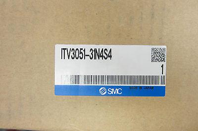 Smc Itv3051-31n4s4 E/p Regulator Itv305131n4s4