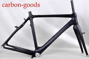 New-Carbon-Cyclocross-bike-frame-CX-racing-bicycle-light-frame-cantilever-brake
