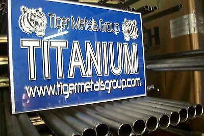 Grade 2 Cp Titanium Tube1.625 Od 0.050 Wall 96 Lengthwelded 637 As