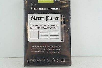 Street Paper A Documentary About Americas Top Selling Homeless Newspaper Dvd