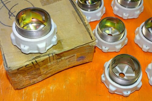 "SIEMENS 5SH115 Diazed screw cap - porcelain - D-type fuse caps - Germany, 2"""