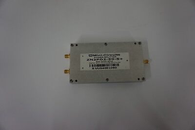 Mini-Circuits ZN2PD2-50-S+ 500-5000 MHz Power Splitter AS IS UNTESTED