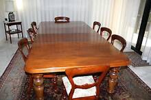 Victorian Mahogany Table and Chairs Duncraig Joondalup Area Preview
