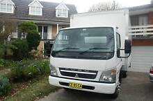 Truck or Van Local long Courier Moving Removal Removalist Service Marsfield Ryde Area Preview