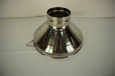 Westfalia Surge 12.5 Diameter Funnel Chute Bowl Milking Machine 5 At Base