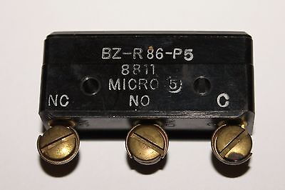 Honeywell Micro Switch Snap Action Limit Switch Bz R86 P5