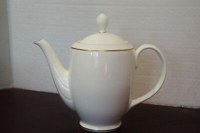 Pfalzgraff coffee pot, Royale, bone china with gold trim Bone China Coffee Pot
