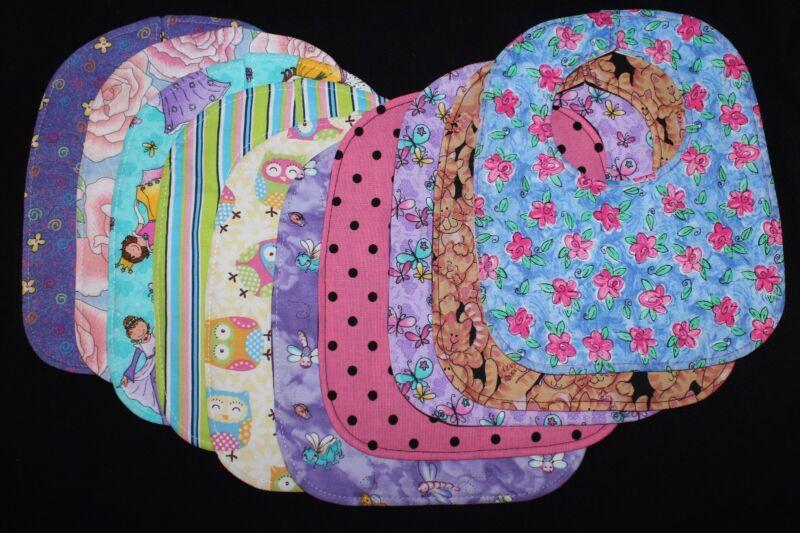 Handmade Baby Bibs S-Many Cute Prints!!!- Seasonal & Holiday Bibs