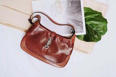 Gucci Jackie O Leather Bag in Vintage Brown.