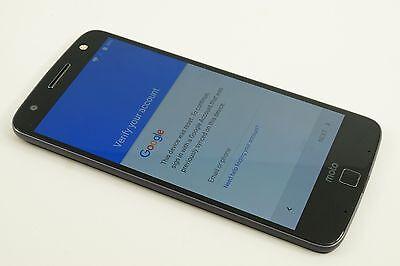 Excellent**Motorola Moto Z Force Droid 32GB Black (Verizon) UNLOCKED Google lck.