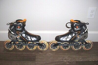 Nice Rollerblade Speed Machine RX110 4x110 Inline Speed Skate Size 10 Powerblade for sale  Shipping to India