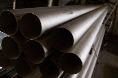 Grade 2 Cp Titanium Tube 3.5 Od 0.025 Wall 5.5 Length 689 As