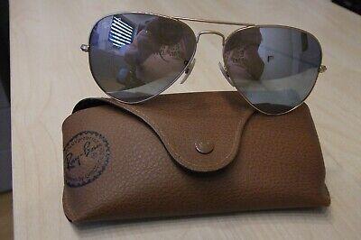 Ray Ban Damen Piloten - Sonnenbrille, selten getragen mit Lederetui