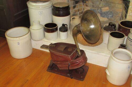 Antique SIEBE & GORMAN Maritime/Firefighting Bellows Fog Horn/Breather Pump#1359