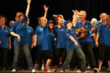 SPIRIT OF THE STREETS CHOIR UNITING 200 VOICES-PERTH CONCERT HALL Perth CBD Perth City Preview