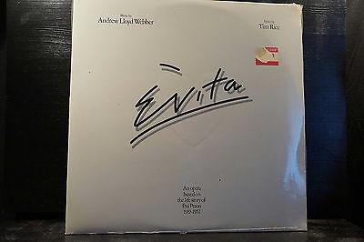 Andrew Lloyd Webber And Tim Rice – Evita     2 LPs (still sealed)