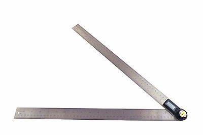 Taytools 500 Mm 20 Digital Protractor Goniometer Angle Finder Stainless 114115