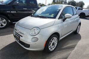 2012 Fiat 500 Pop- LOW KM + SUNROOF!