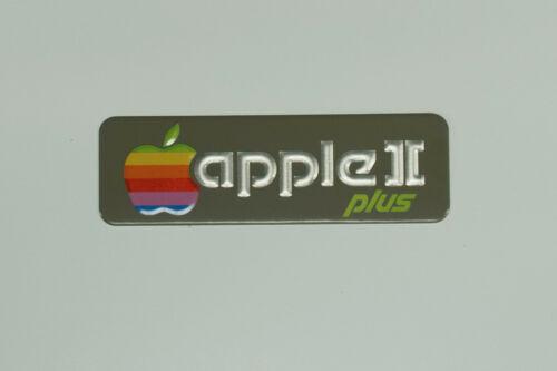 Refurbished Apple II Plus Computer Badge Emblem