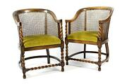 Pair Antique Armchairs