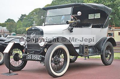 """Model T Ford USA  1923   2 Photos  6""""  x  4"""""""